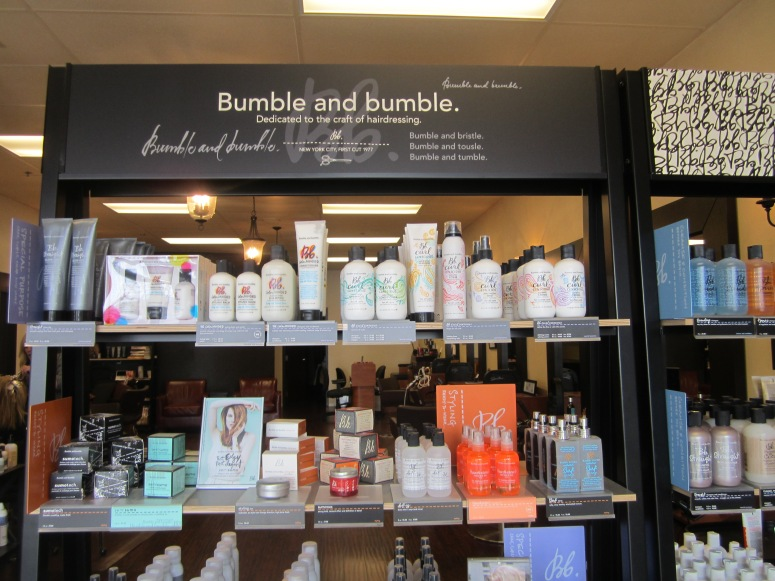Look at the products that you can bristle, tousle, and tumble bumble with.