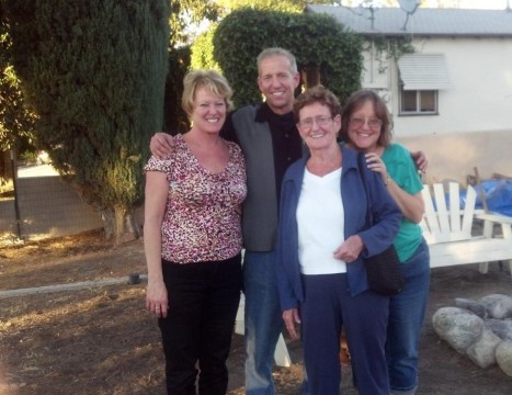 Family photo, Thanksgiving 2012. Pictured: Holly, Tom, Mom, and Mary.