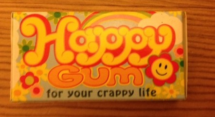 This gum will make you happy
