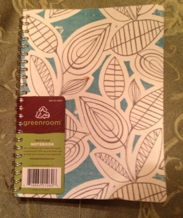 My new journal. It's blank and waiting for words.