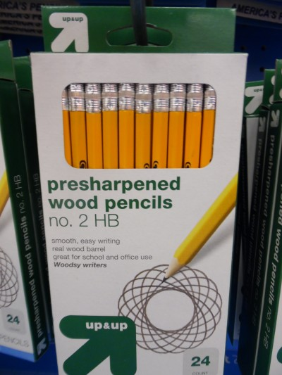 Yes, that does say presharpened. They know what's up.