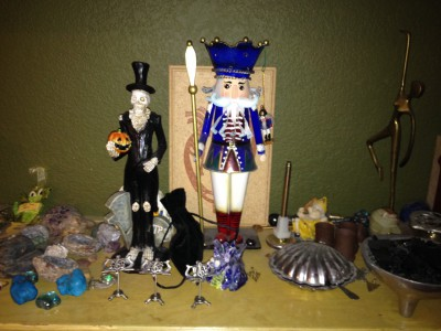 Well, there is the Nutcracker....and Spooky Halloween Man.