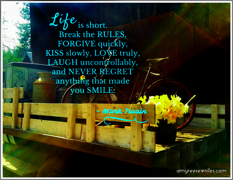 Life Is Short Mark Twain Quote The Bumble Files