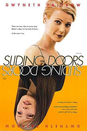 """Slidingdoors"". Via Wikipedia - http://en.wikipedia.org/wiki/File:Slidingdoors.jpg#/media/File:Slidingdoors.jpg"
